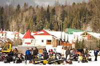 2012 Fernie Snowmobile Association Drag Races