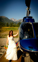 Helicopter Access Wedding and Portrait Photography