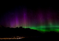Northern Lights over Fernie B.C